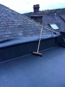 EDPM new flat roof